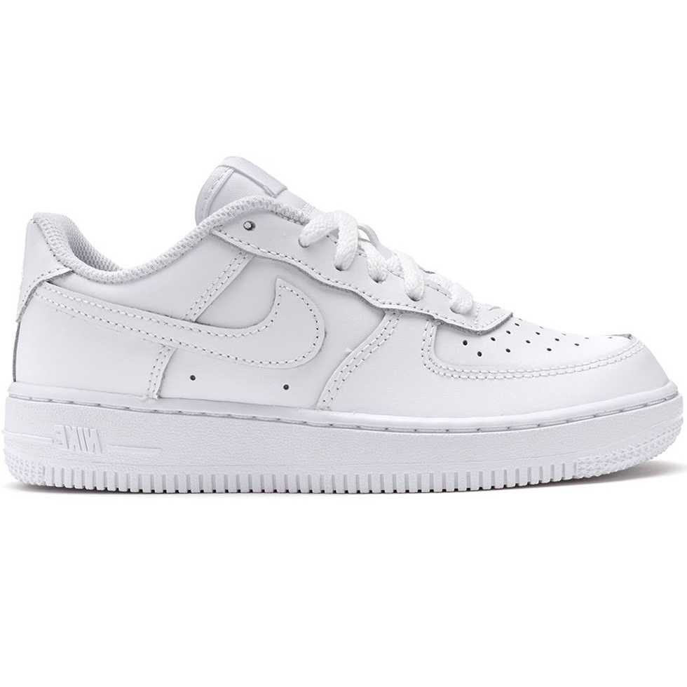on sale 38612 db008 Nike Air Force 1 GS Damen  Kinder Sneaker weiß