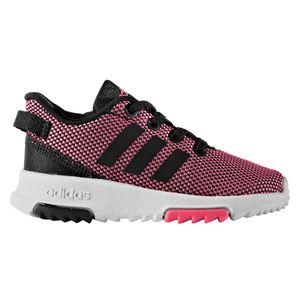 adidas neo Racer TR INF Kinder Sneaker pink schwarz weiß – Bild 1