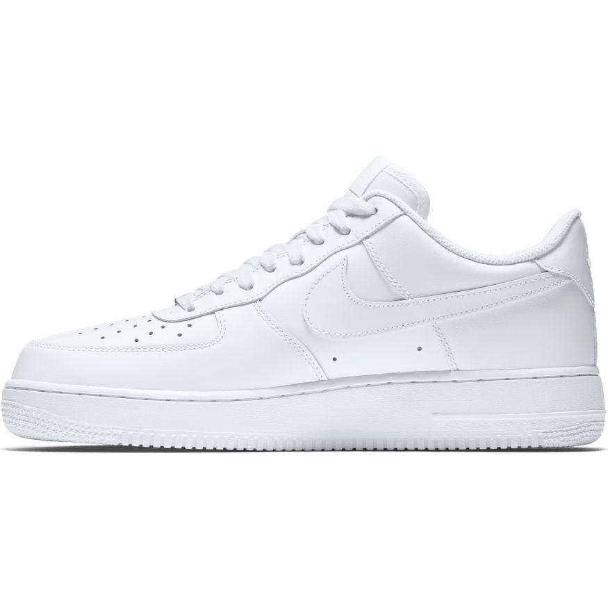 separation shoes 66fcb adb05 Nike Air Force 1 07 Herren Sneaker weiß – Bild 2