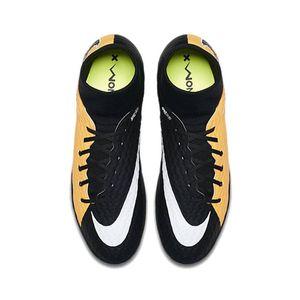 Nike JR HypervenomX Phelon III DF IC Fußballschuh orange schwarz – Bild 3