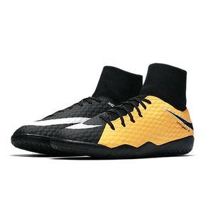 Nike JR HypervenomX Phelon III DF IC Fußballschuh orange schwarz – Bild 4