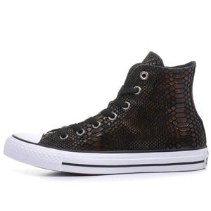 Converse CT AS HI Chuck Taylor All Star metallic braun weiß – Bild 2