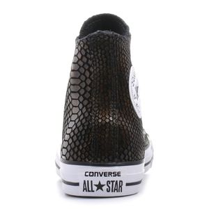 Converse CT AS HI Chuck Taylor All Star metallic braun weiß – Bild 4