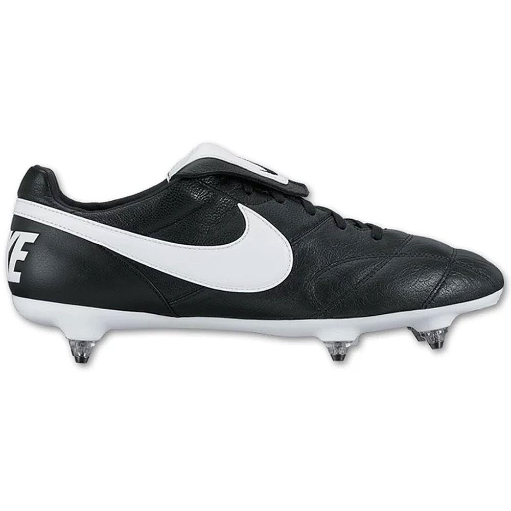 The Nike Premier II SG Stollen Fußballschuh schwarz