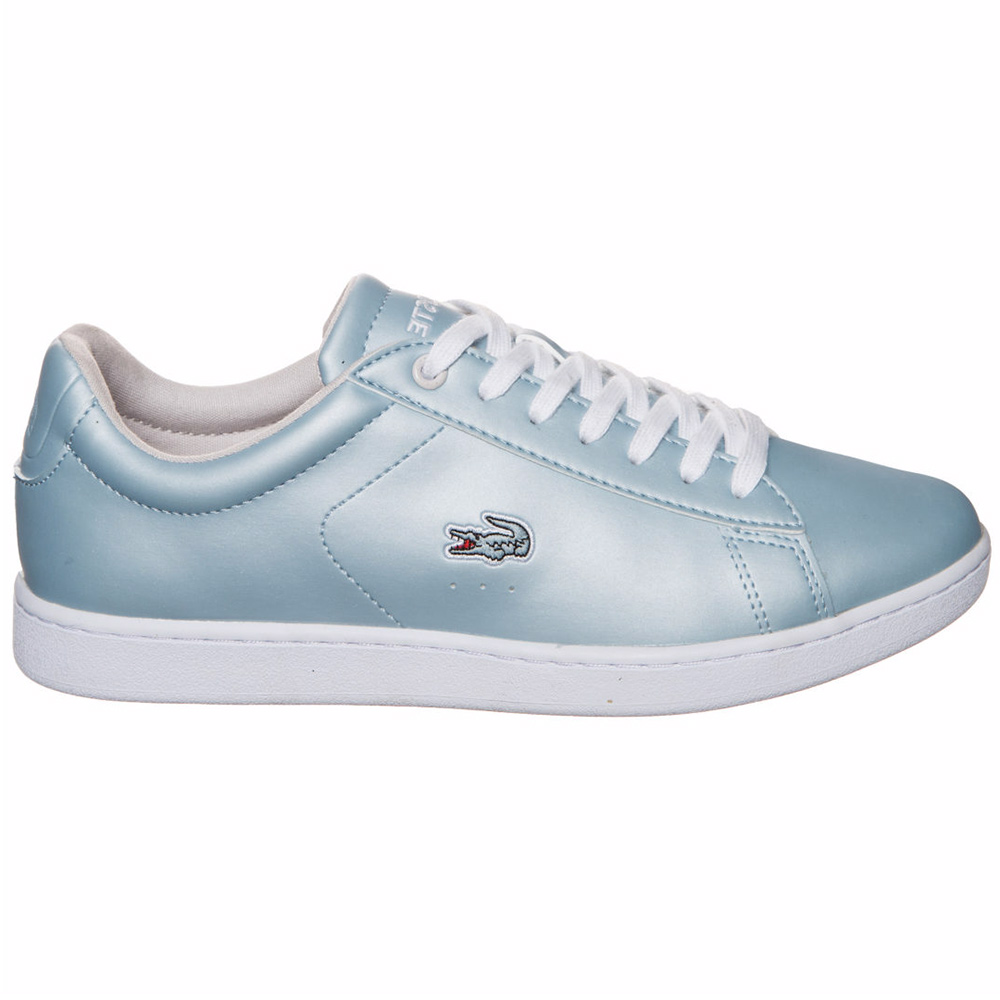 lacoste carnaby evo 317 damen sneaker light blue. Black Bedroom Furniture Sets. Home Design Ideas