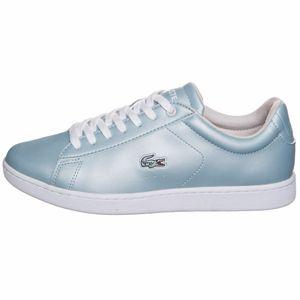 Lacoste Carnaby Evo 317 Damen Sneaker light blue – Bild 2