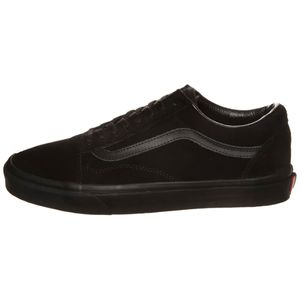 Vans Old Skool Suede Sneaker schwarz all black – Bild 2