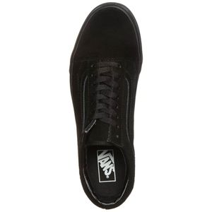 Vans Old Skool Suede Sneaker schwarz all black – Bild 3