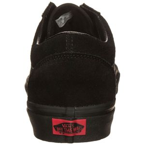 Vans Old Skool Suede Sneaker schwarz all black – Bild 4
