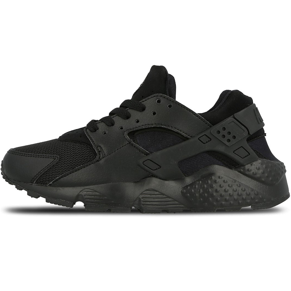 nike air huarache run gs sneaker schwarz. Black Bedroom Furniture Sets. Home Design Ideas