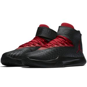 Jordan Fly Unlimited Basketball High-Top Sneaker schwarz rot – Bild 3