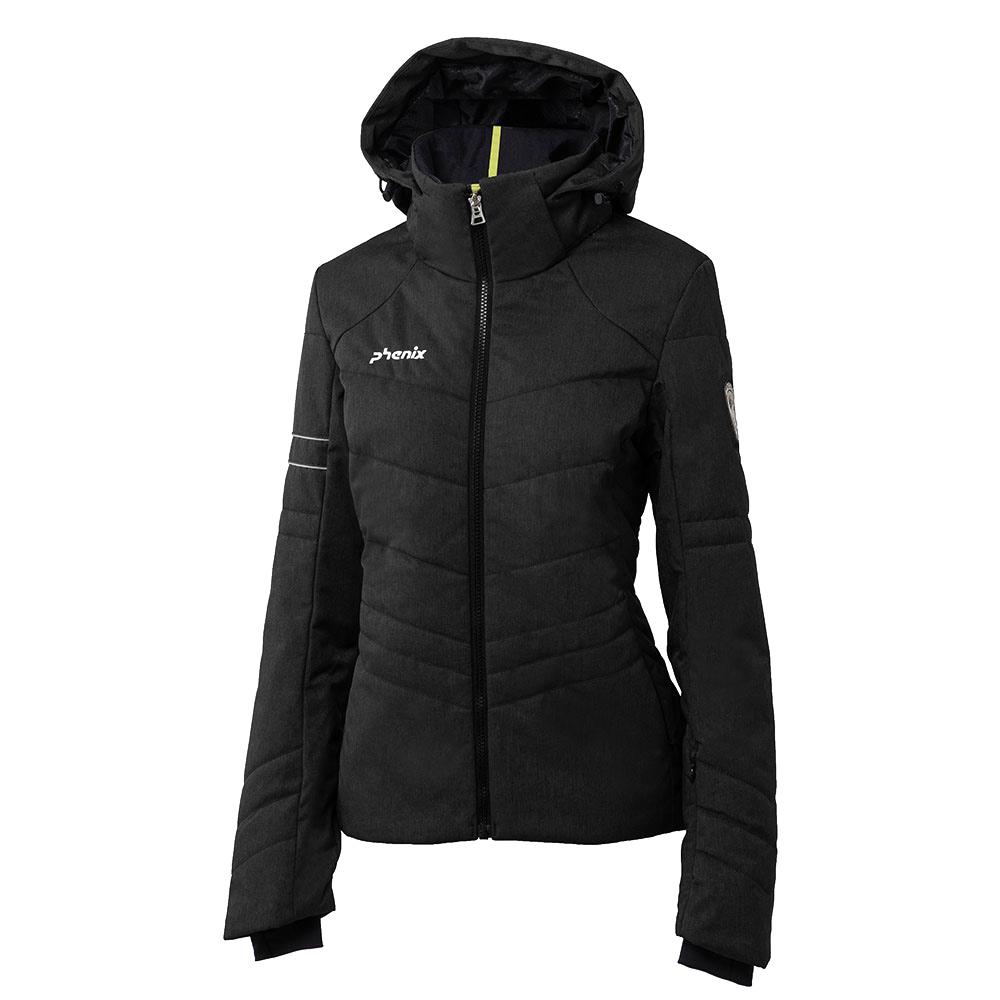 phenix powder snow jacket damen skijacke schwarz. Black Bedroom Furniture Sets. Home Design Ideas