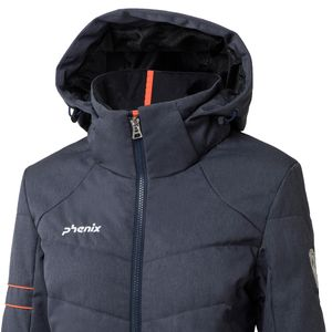 Phenix Powder Snow Jacket Damen Skijacke grau – Bild 3