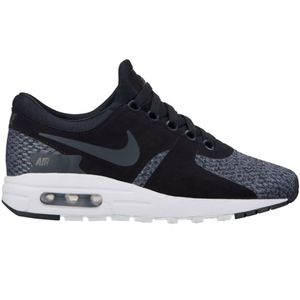 Nike Air Max Zero SE GS Kinder Sneaker schwarz grau weiß – Bild 2