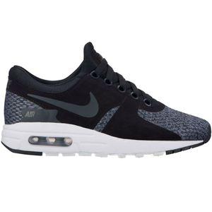 Nike Air Max Zero SE GS Kinder Sneaker schwarz grau weiß – Bild 1