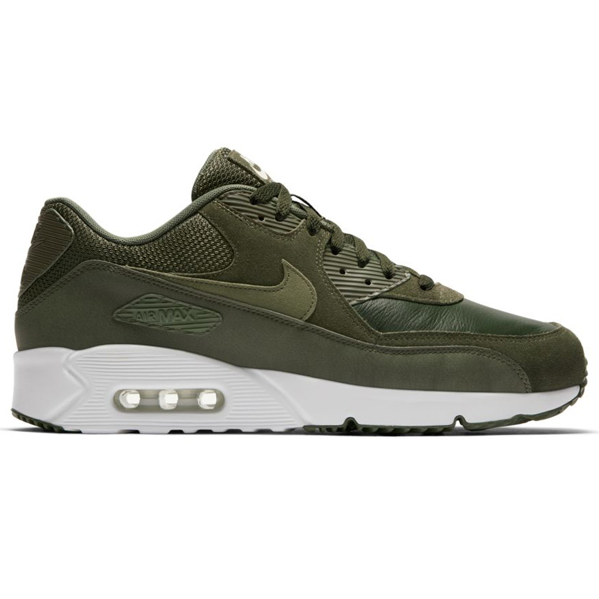 nike air max 90 ultra 2 0 leather herren sneaker cargo khaki. Black Bedroom Furniture Sets. Home Design Ideas