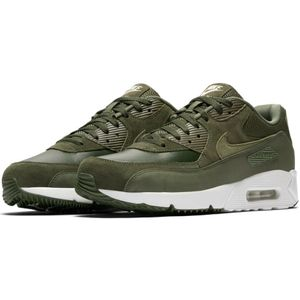 Nike Air Max 90 Ultra 2.0 Leather Herren Sneaker cargo khaki – Bild 4