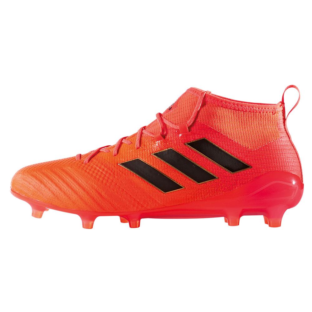 newest f9b05 e401c adidas ACE 17.1 Primeknit FG Herren Fußballschuh orange – Bild 2