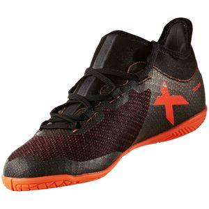 adidas X Tango 17.3 IN J Kinder Hallenschuh schwarz orange – Bild 3