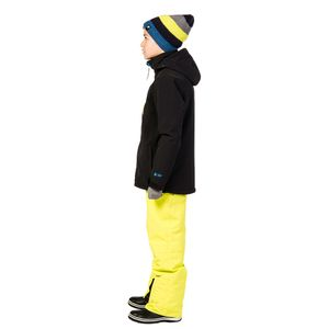 Protest Dain JR Kinder Boardjacket schwarz blau – Bild 3