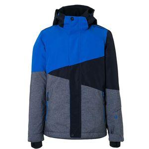 Brunotti Idaho JR Boys Jacket Kinder Skijacke schwarz grau blau – Bild 1