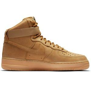 2bc20da98adfc2 Nike Air Force 1 `07 LV8 Style Herren Sneaker schwarz braun AQ0117 002