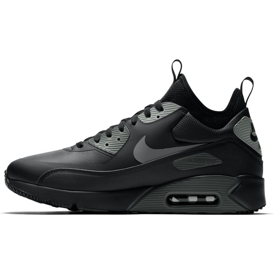 Nike Air Max 90 Ultra Mid Winter Sneaker schwarz grau