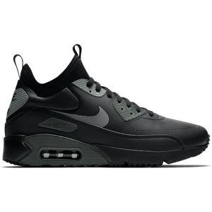 Nike Air Max 90 Ultra Mid Winter Sneaker schwarz grau – Bild 1