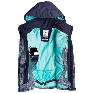 Roxy Jetty Block Ski- und Snowboardjacke Damen blau – Bild 3