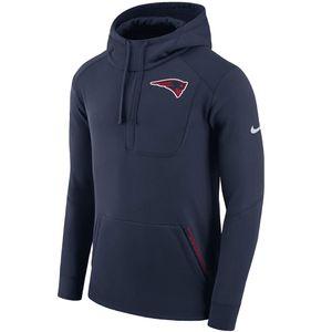 Nike Fly Fleece Pullover NFL New England Patriots blau – Bild 1