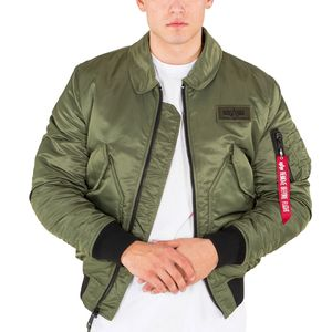Alpha Industries Men's CWU VF BL Jacke olive – Bild 2