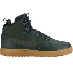 Nike Court Borough Mid Winter High-Top Sneaker outdoor green – Bild 1