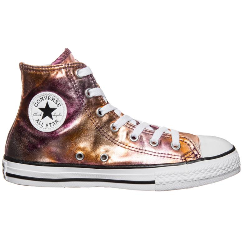 Converse CT AS Hi Chuck Taylor All Star Kinder metallic dusk pink