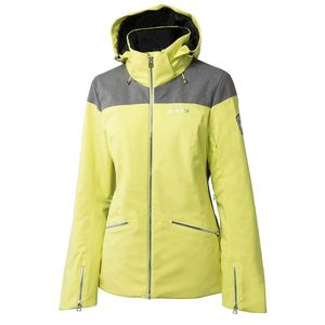 Phenix Virgin Snow Jacket Damen Skijacke gelb grau – Bild 1
