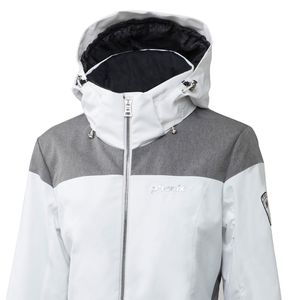 Phenix Virgin Snow Jacket Damen Skijacke weiß grau – Bild 2