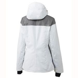 Phenix Virgin Snow Jacket Damen Skijacke weiß grau – Bild 3