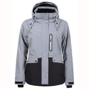 Icepeak Kelly Jacket Damen Skijacke grau dunkelgrau – Bild 1
