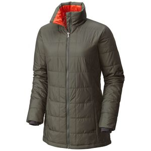 Columbia Carson Pass IC Damen Outdoorjacke olive – Bild 3