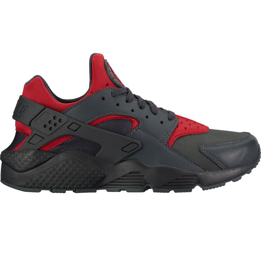 nike air huarache herren sneaker schwarz grau rot. Black Bedroom Furniture Sets. Home Design Ideas