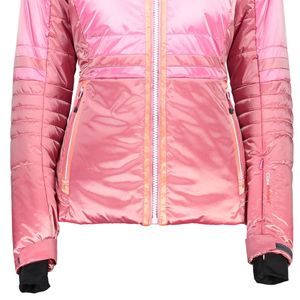 Campagnolo Woman Zip Hood Jacket Skijacke pink orange – Bild 3