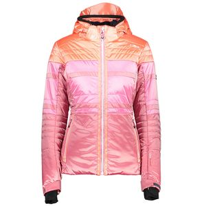 Campagnolo Woman Zip Hood Jacket Skijacke pink orange – Bild 1