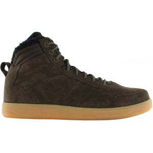 K1X h1top Herren High Top Sneaker braun Fell – Bild 1