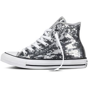 Converse CT AS HI Chuck Taylor All Star silver white – Bild 2