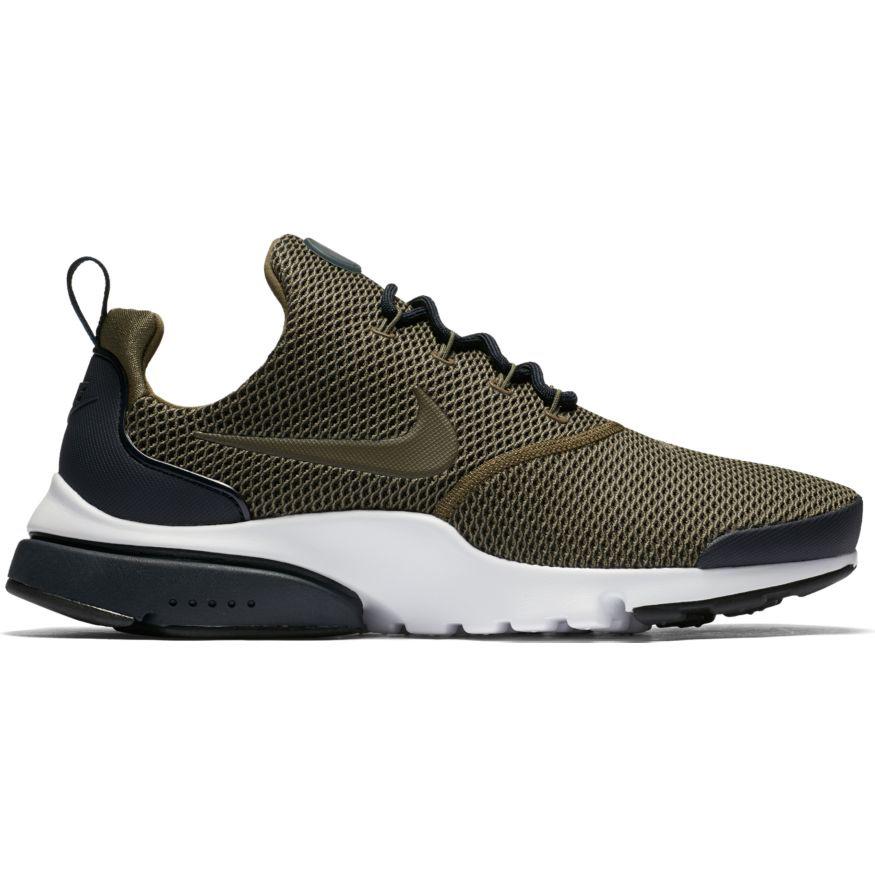 Nike Presto Fly SE Herren Sneaker oliv schwarz