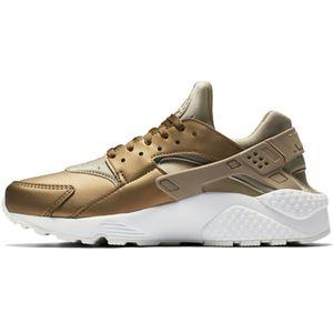 Nike WMNS Air Huarache Run PRM TXT khaki metallic – Bild 2