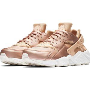Nike WMNS Air Huarache Run PRM TXT rose beige metallic – Bild 3