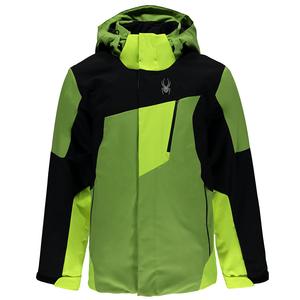 Spyder Enforcer Jacket Herren Skijacke grün schwarz  – Bild 1