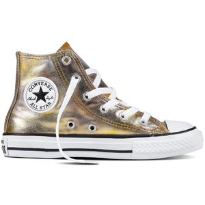 Converse CT AS Hi Chuck Taylor All Star Kinder metallic gold – Bild 1