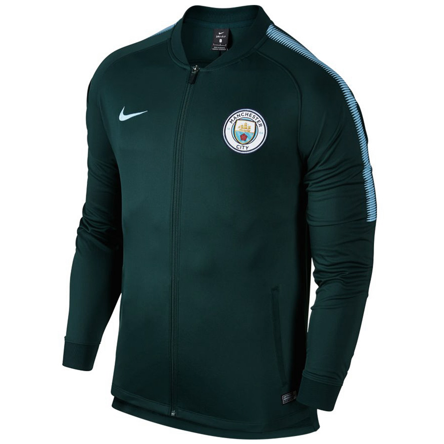 nike manchester city dri fit track jacket herren oliv. Black Bedroom Furniture Sets. Home Design Ideas