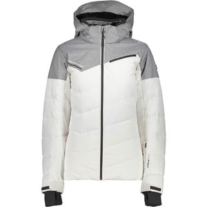 08147beac6b7 Campagnolo Woman Zip Hood Jacket Skijacke weiß grau – Bild 1